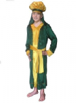 KING MELCHIOR GREEN WISE MAN NATIVITY FANCY DRESS COSTUME